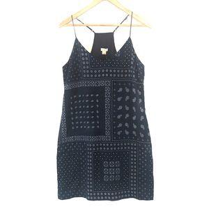 J. Crew Linen Sleeveless Cami Midi Dress Womens 8
